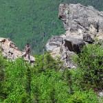 в горах Аппалачи
